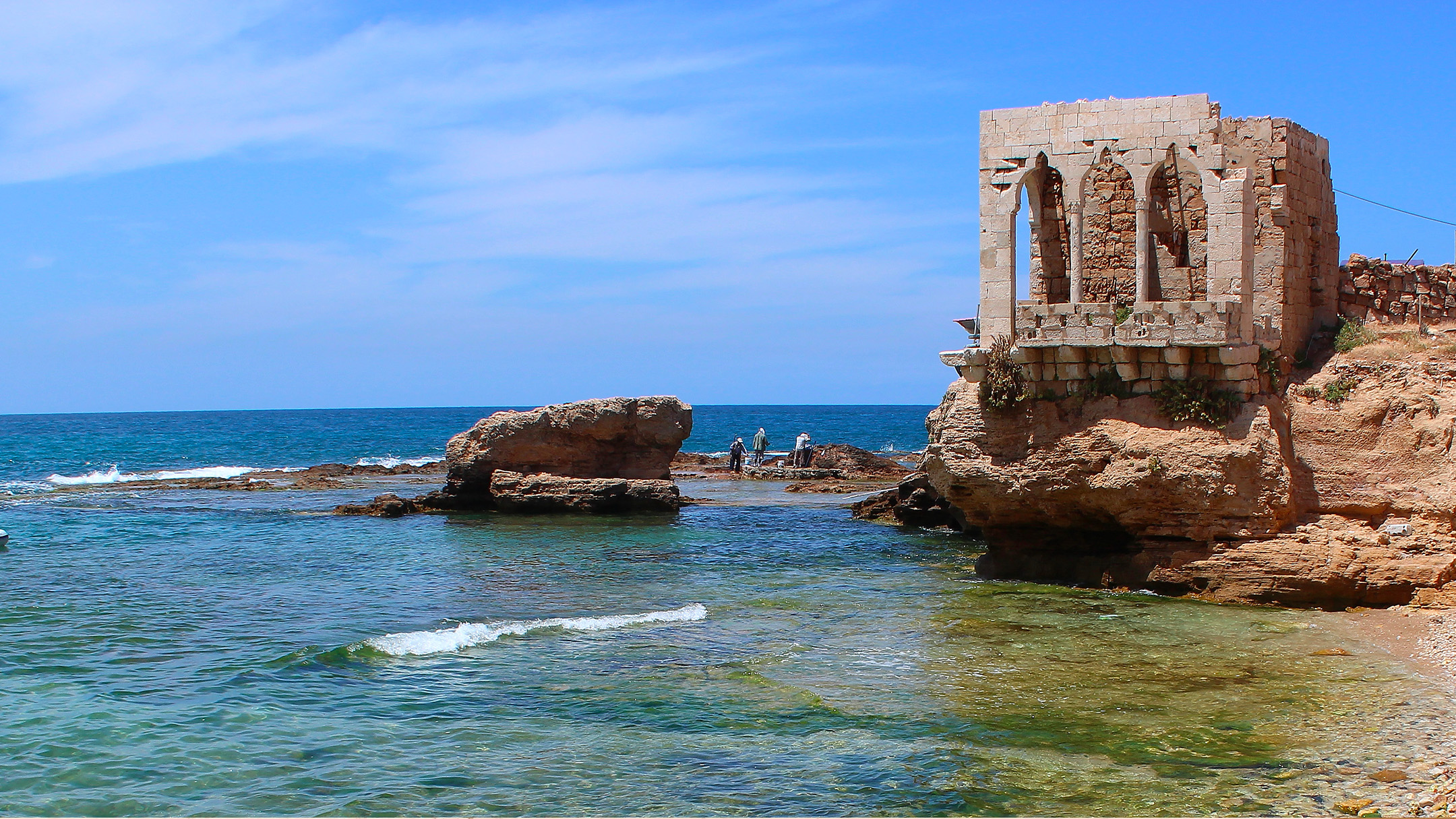 Batroun sea side, Lebanon