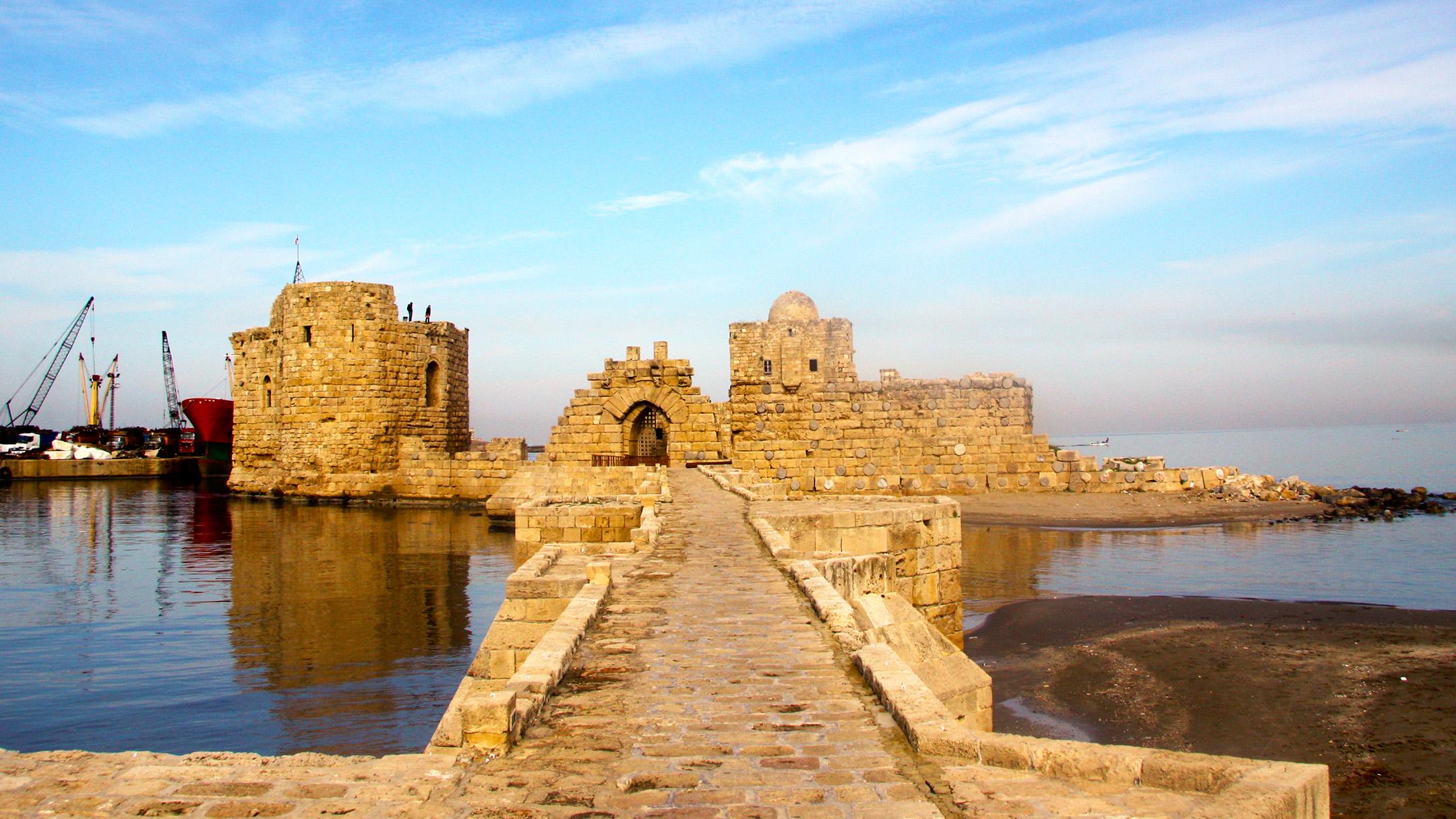 Sea castle Saida (Sidon), Lebanon