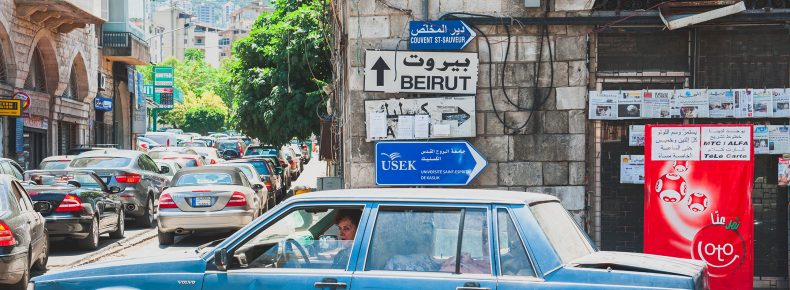 Transportation and taxis in Lebanon