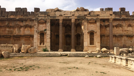 Transfer from Beirut airport to Baalbek, Lebanon