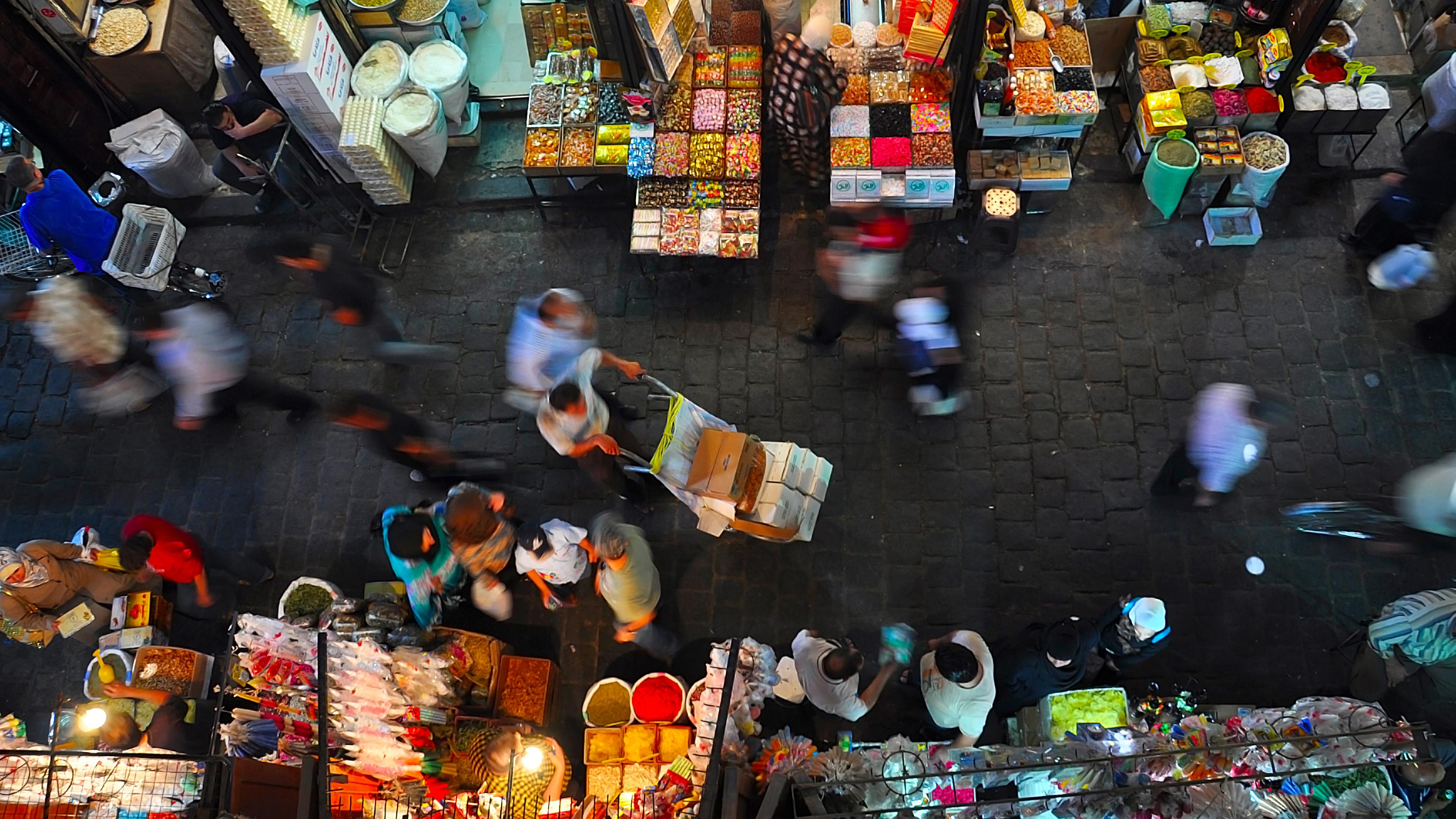 Souq Al-Hamidiyya, Damascus