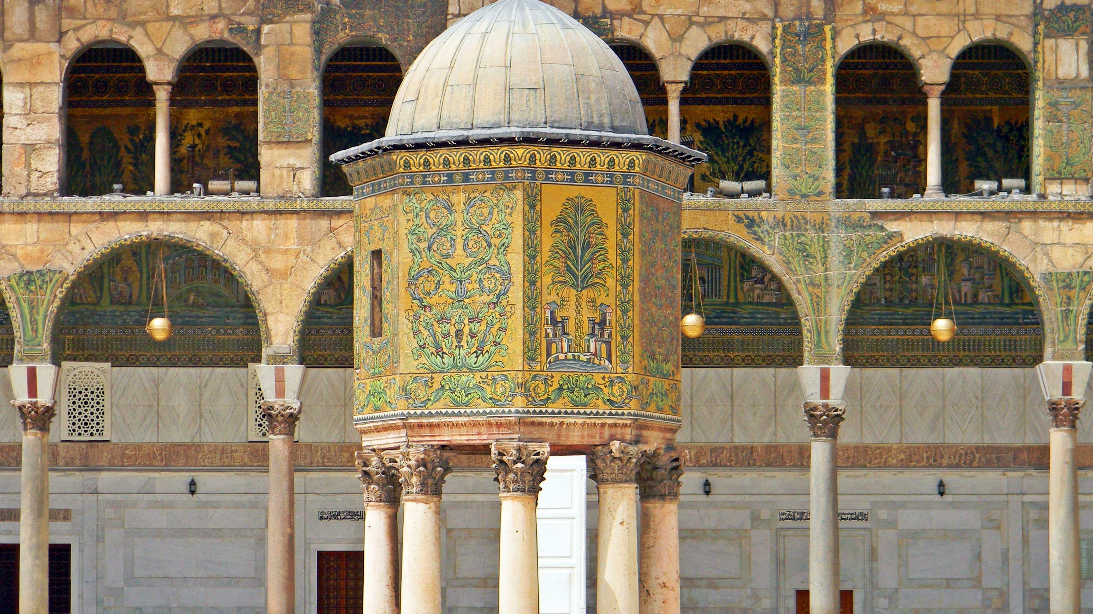 Damascus' Umayyad Mosque