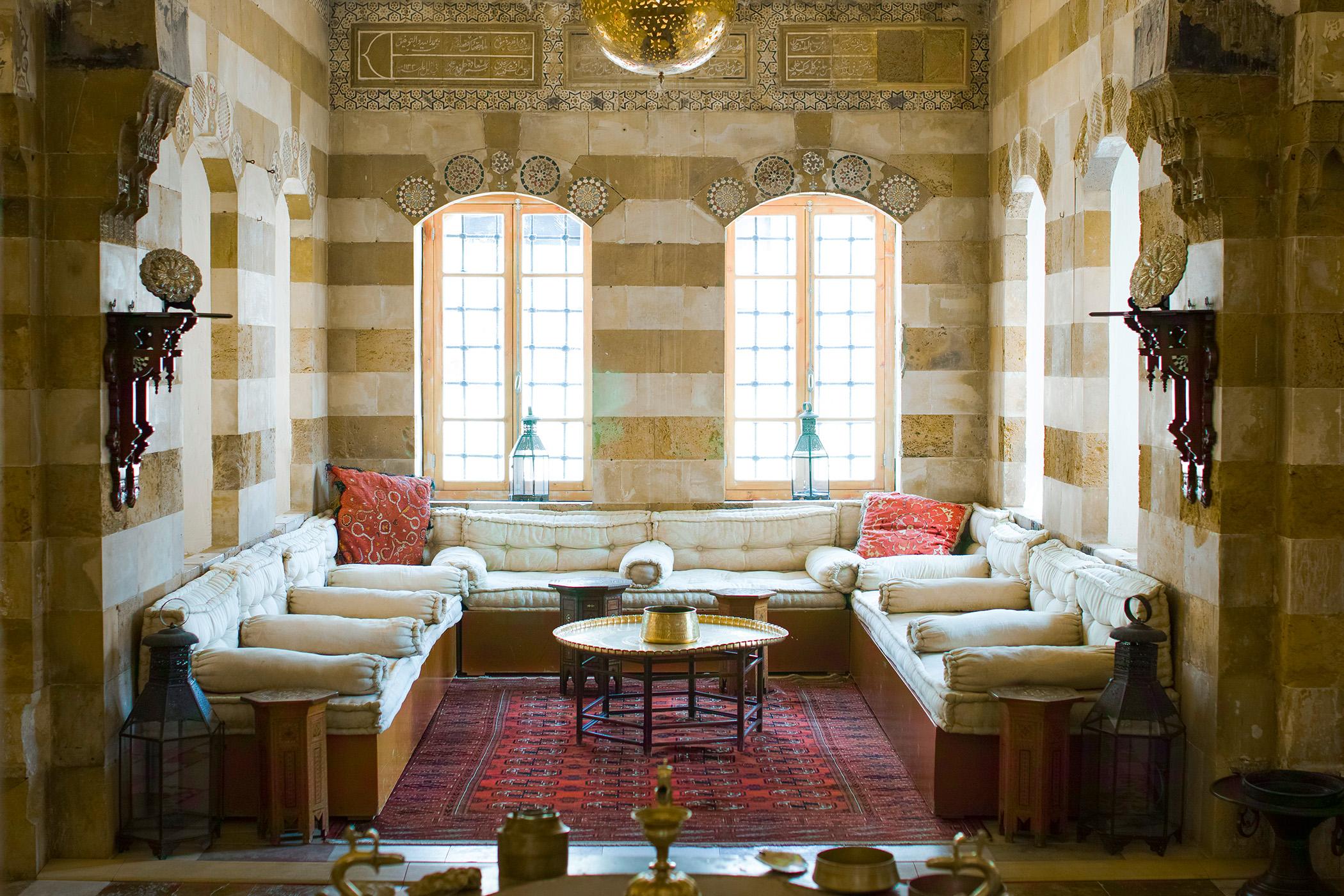 Debbane Palace in Saida, Lebanon
