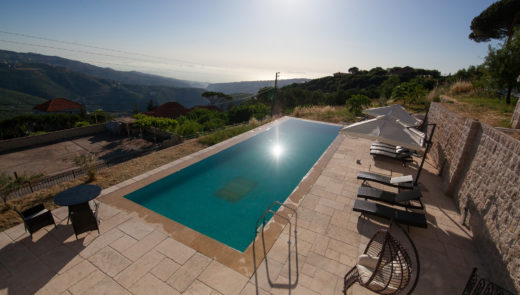 Guesthouse with a swimming pool in Lebanon